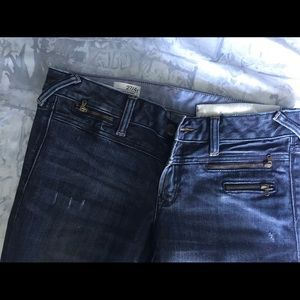 4Tall Skinny lightly used Gap denim jeans.